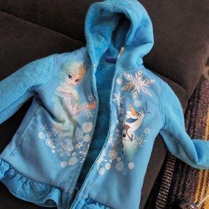 Disney Frozan zip up jacket